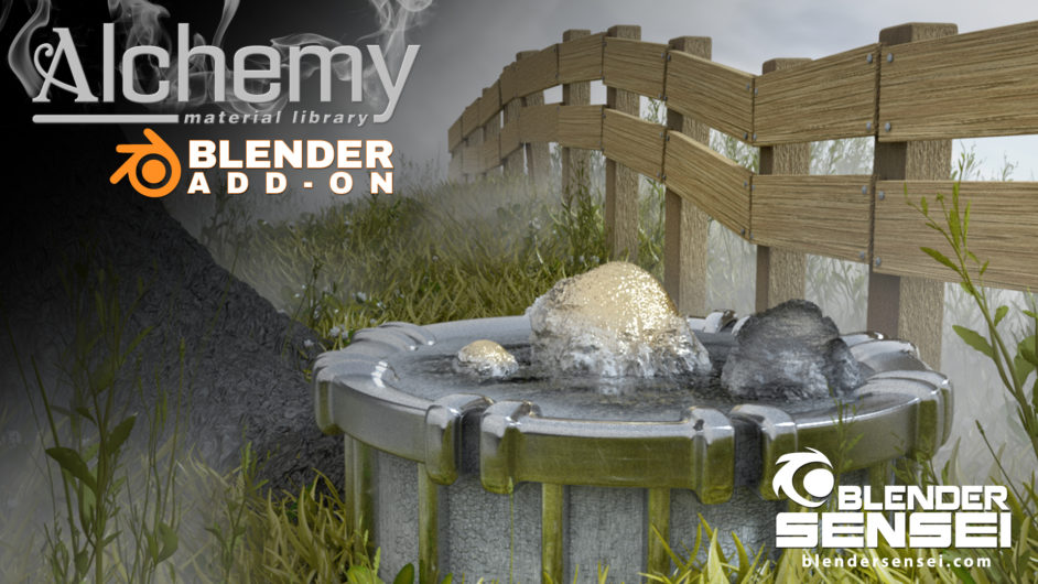 Alchemy-Blender-Addon-Basics